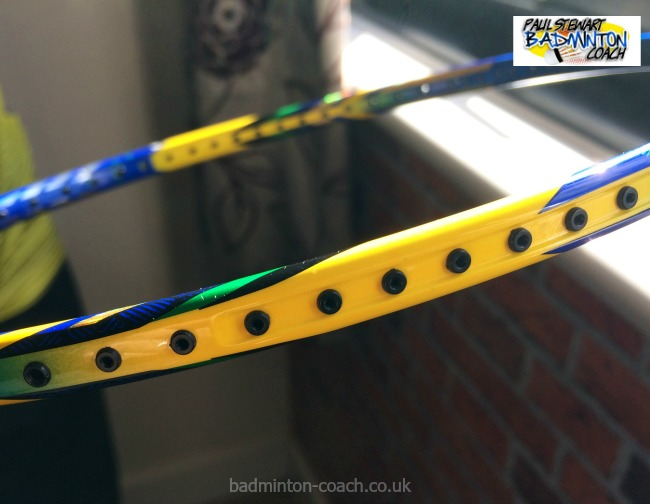Badminton Racket Maintenance - New Grommets