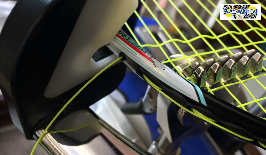 Badminton Racket maintenance - Stringing