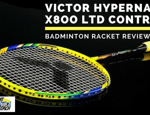 Victor Hypernano X800 Control Badminton Racket Review