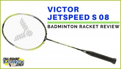 Victor Jetspeed S 08 Badminton Racket