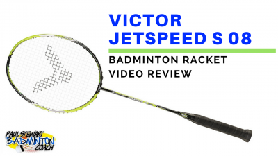 Victor Jetspeed S08 Badminton Racket