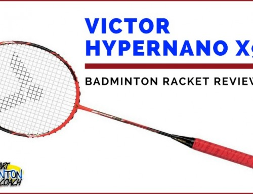 Victor Hypernano X 990 Badminton Racket Video Review