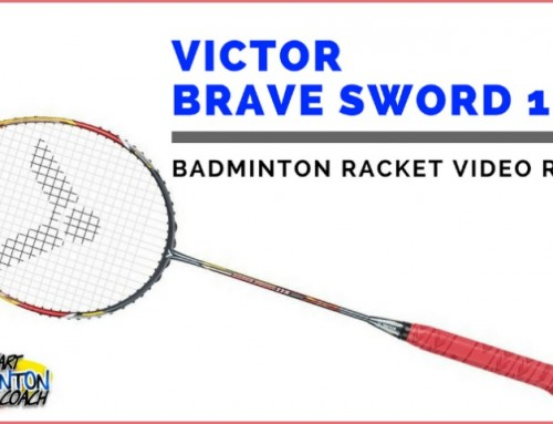 Victor Brave Sword 11R Badminton Racket Video Review