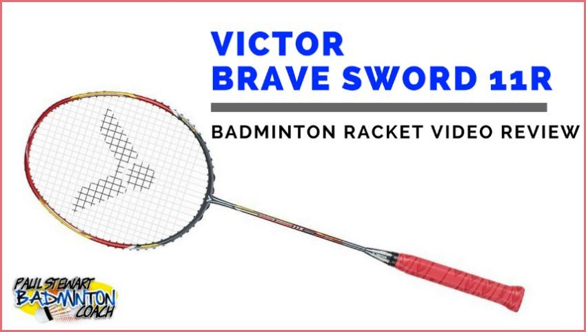 Victor Brave Sword 11R Badminton Racket