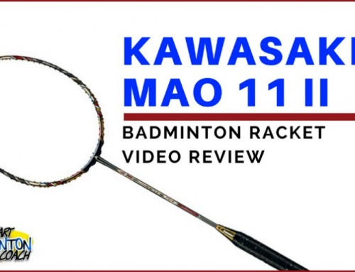 Kawasaki Mao 11 II Badminton Racket Video Review
