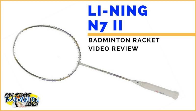 Li Ning N7 II Badminton Racket