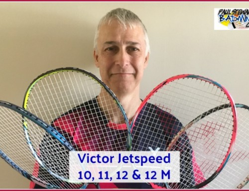 Jetspeed 10, 11 and 12 Badminton Racket Video Comparison