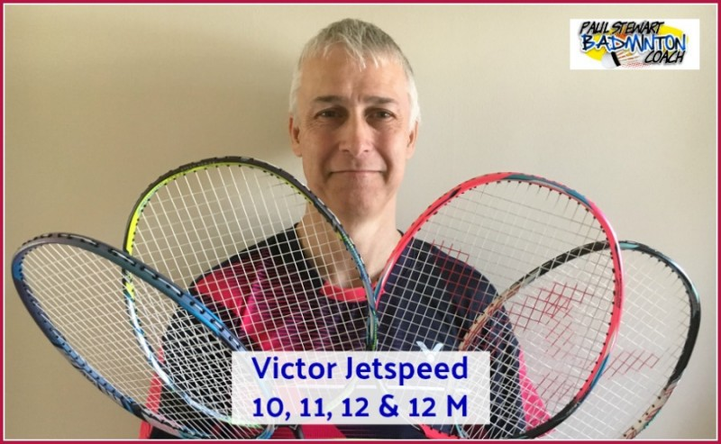 Victor Jetspeed Racket Comparison