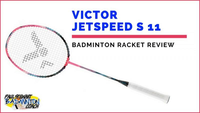 Victor Jetspeed 11 Badminton Racket