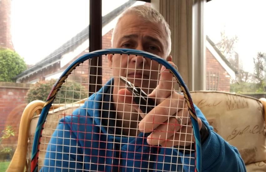 Badminton String Breakage