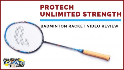 Protech Unlimited Strength Badminton Racket