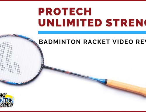 Protech Unlimited Strength Badminton Racket Video Review