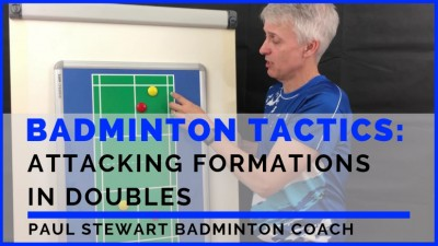 Attacking Formations In Badminton Doubles
