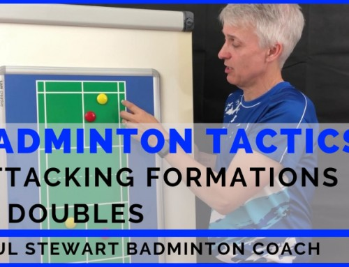 Badminton Tactics: Attacking Formations In Doubles