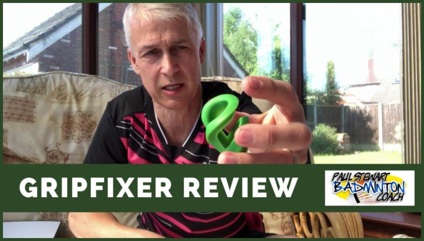 Badminton GripFixer