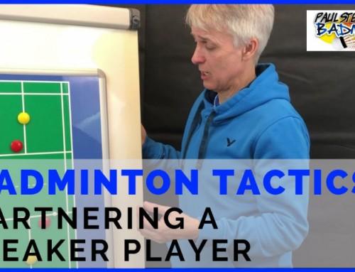 Badminton Tactics: Partnering A Weaker Badminton Player
