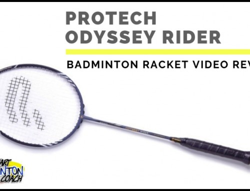 Protech Odyssey Rider Badminton Racket Video Review