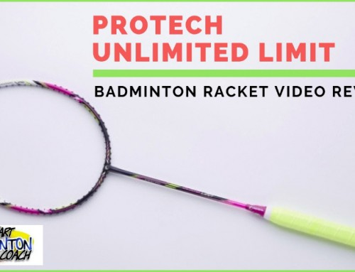 Protech Unlimited Limit Badminton Racket Video Review