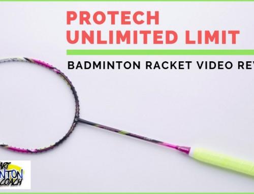 Protech Unlimited Limit Badminton Racket Video Review