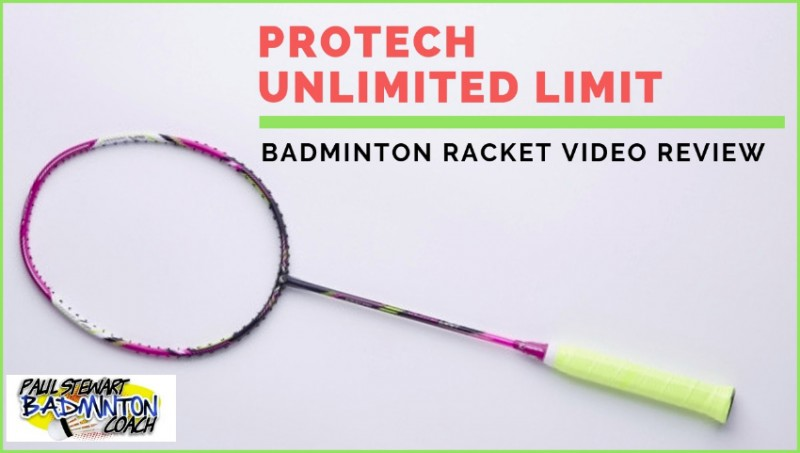Protech Unlimited Limit Badminton Racket