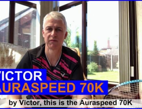 Victor Auraspeed 70K Badminton Racket Video Review