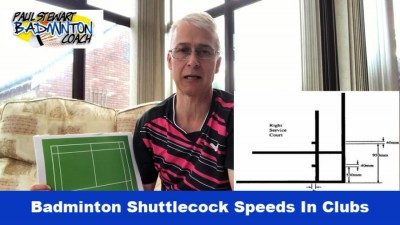Badminton Shuttlecock Speeds Cover