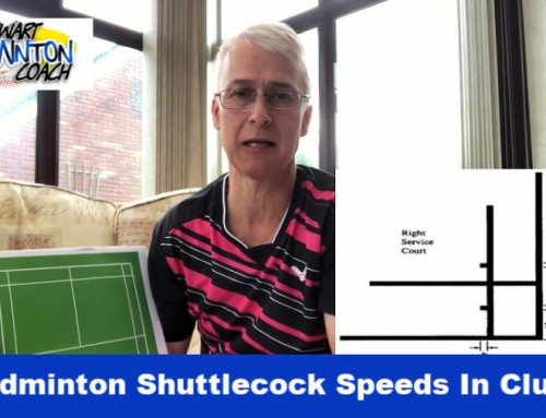 Why Are Badminton Shuttlecock Speeds In Many Clubs Too Slow?