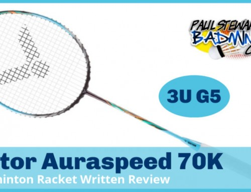Victor Auraspeed 70K Badminton Racket Review