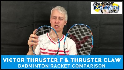 Victor Thruster F & Claw Comparison