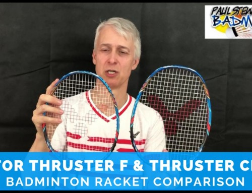 Victor Thruster F & Thruster Claw Badminton Racket Video Comparison