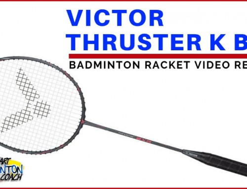 Victor Thruster K BXR Badminton Racket Video Review