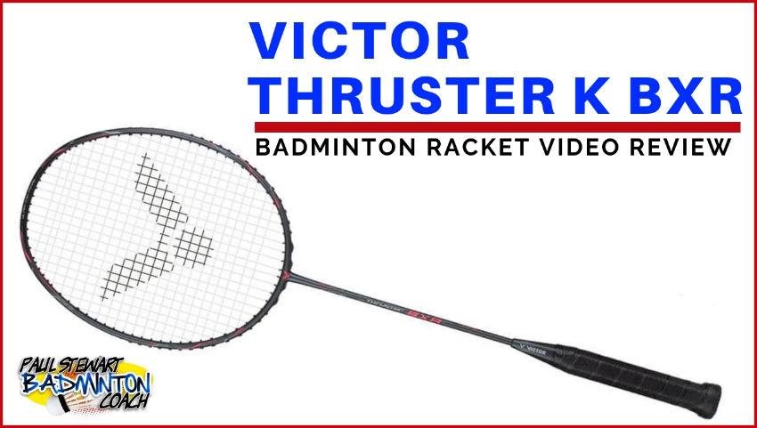 Victor Thruster K BXR Badminton Racket