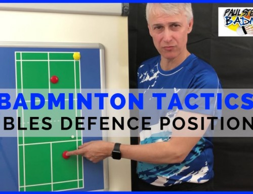 Badminton Tactics: Doubles Defence Positioning