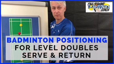 Level Doubles Positioning - Serve & Return