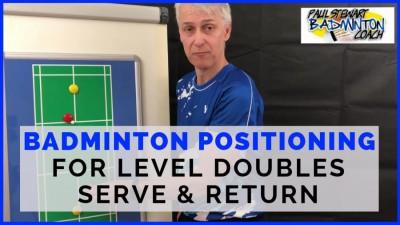 Level Doubles Positioning - Serve & Return
