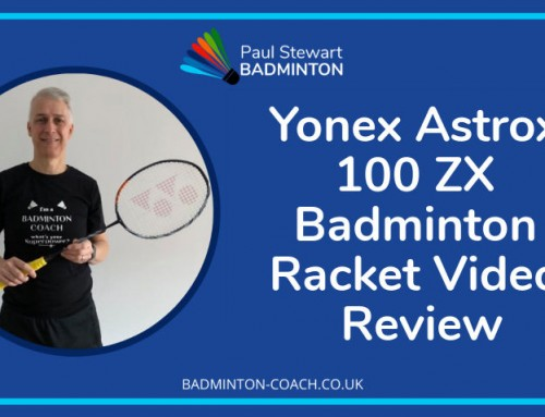 Yonex Astrox 100 ZX Badminton Racket Video Review
