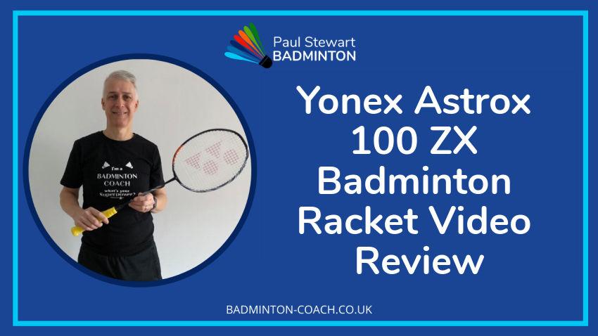 Yonex Astrox 100 ZX Badminton-Racket Video Review
