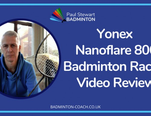 Yonex Nanoflare 800 Badminton Racket Video Review