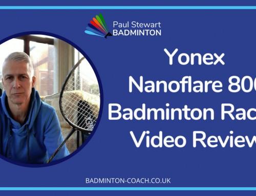 Yonex Nanoflare 800 Badminton Racket Video Review