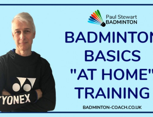 Badminton Basics – At Home Training Exercises