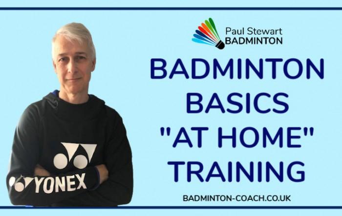Badminton Basics - At Home Training