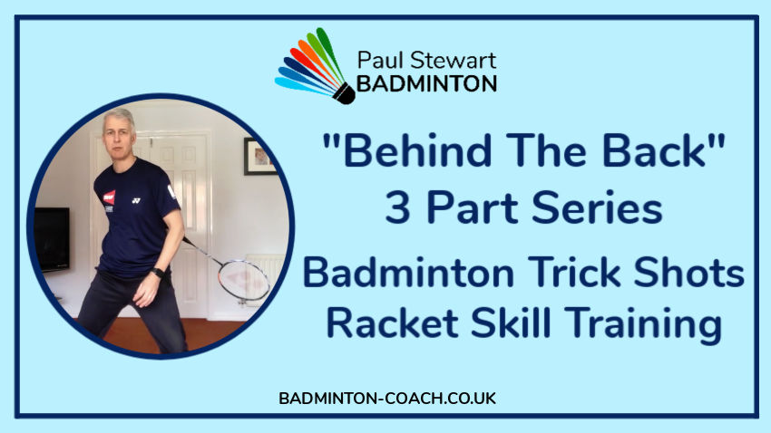 Badminton Trick-Shots Racket Skill Training