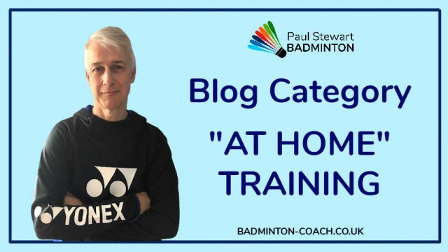 Blog Category - At Home Training